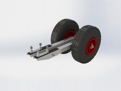 Транцевые лодочные колеса